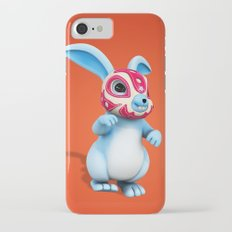 Lucha Rabbit-Blue Brother Slim Case iPhone 7