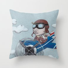 aviator Throw Pillow