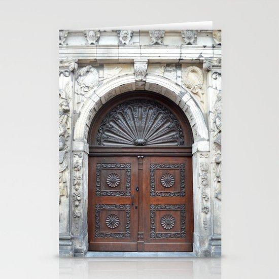 Dutch door Stationery Card