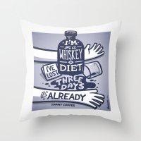 Whiskey Throw Pillow