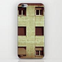Windows with man iPhone & iPod Skin