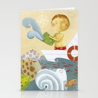 Clovis Bailing The Water… Stationery Cards