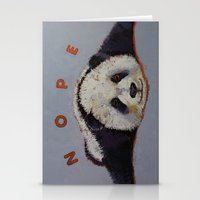 Nope Stationery Cards