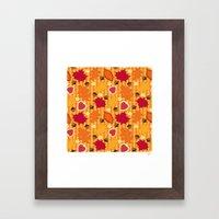 Autumn Print Framed Art Print