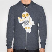 White Owl Hoody