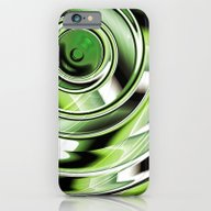 Abstract Circle Green iPhone 6 Slim Case