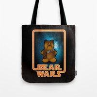 Bear Wars - Chompy Tote Bag