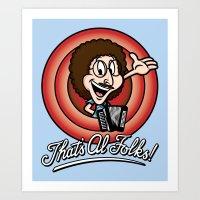 That's Al Folks! (Classi… Art Print