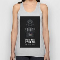 May The Fourth Unisex Tank Top