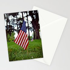 Aesthetic flag Stationery Cards