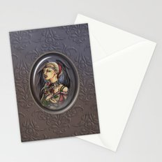 Marooned - Gothic Angel Portrait Stationery Cards