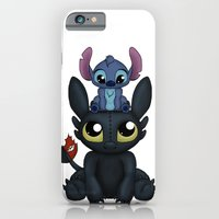 iPhone Cases featuring Can I Sit Here by Katie Simpson a.k.a. Redhead-K