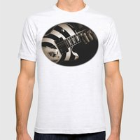 The Guitar Player Mens Fitted Tee Ash Grey SMALL