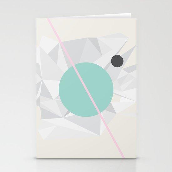 Moon Stationery Card