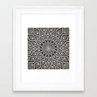 Delicate - Silver Framed Art Print