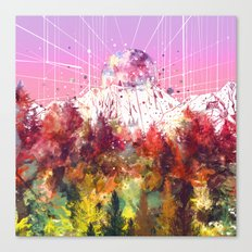 colorful forest 6 Canvas Print