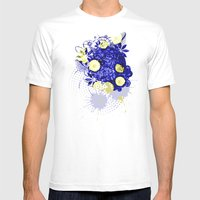 Symphony Of Night Mens Fitted Tee White SMALL