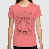 IX Womens Fitted Tee Pomegranate SMALL