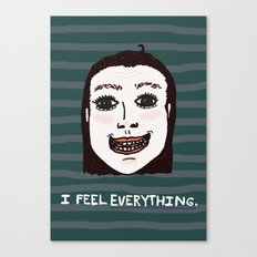 Too Much-ness Canvas Print