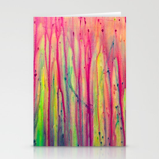 Abstract Painting 22 Stationery Card