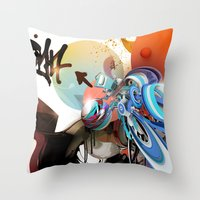 The Price Of Ambition Throw Pillow
