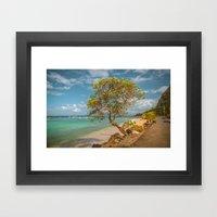 Paradise Living Framed Art Print