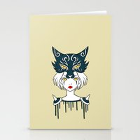 Wolf Tribe Stationery Cards