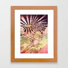 Magic Beans (Alternate colors version) Framed Art Print