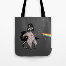 The Dark Side Of The Racoon Tote Bag