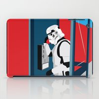 Stormtrooper Phone Home iPad Case