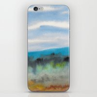 Watercolor Abstract Land… iPhone & iPod Skin
