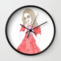 Milk-shake Time Wall Clock