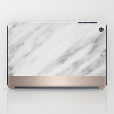 Carrara Italian Marble Holiday White Gold Edition iPad Case