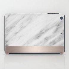 Carrara Italian Marble H… iPad Case
