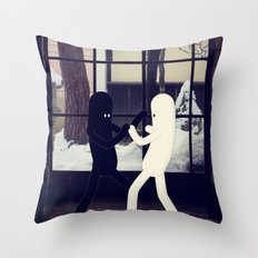 a r m o n i a i n t e r r o t t a Throw Pillow