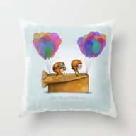 UP Pixar— Love Is Th… Throw Pillow