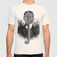 Alien Mens Fitted Tee Natural SMALL