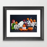 Punkin Army Framed Art Print