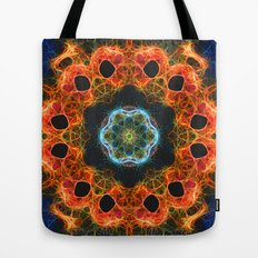 Fiery barnacles kaleidoscope 2 Tote Bag
