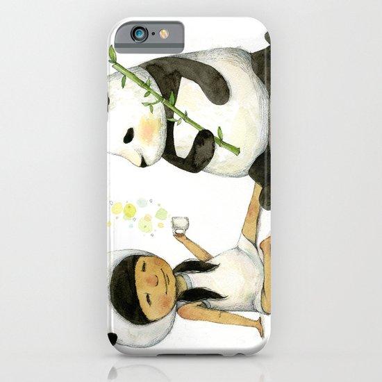 Tea Time with Panda  iPhone & iPod Case