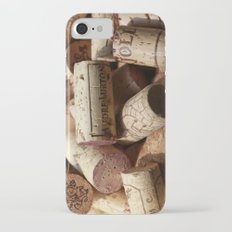 wine Cork iPhone 7 Slim Case