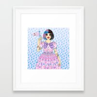 Cry Baby Framed Art Print