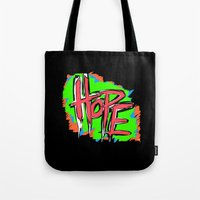 Hope (retro Neon 80's St… Tote Bag