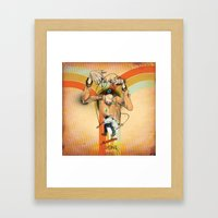 The Totem Alias Framed Art Print