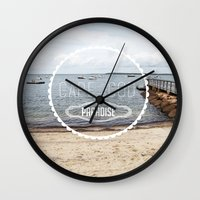 Cape Cod Paradise  Wall Clock