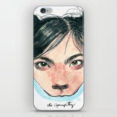 Bjørk in Milk iPhone & iPod Skin
