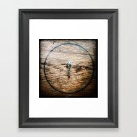 Face North Framed Art Print