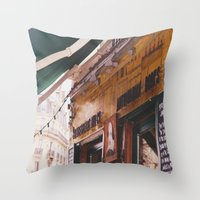 Shakespeare And Co Throw Pillow