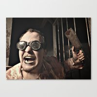 Dr. Cleaver Canvas Print