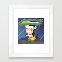 The Great Hammerheadman Framed Art Print